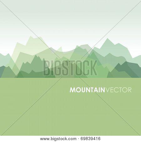 green mountains