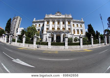 Governor's Palace In Rijeka,croatia