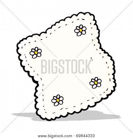 cartoon handkerchief