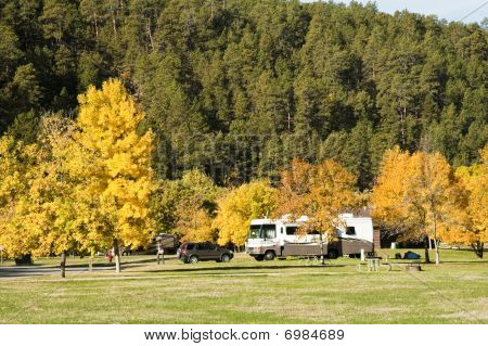 Rv Campground Fall Colors