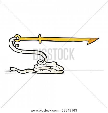 cartoon harpoon