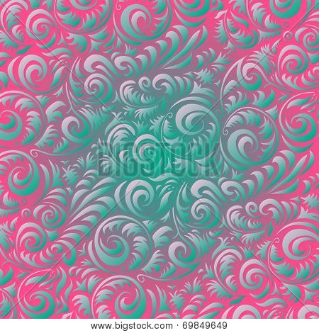 art retro, design, flowers, vintage, pattern, abstract,