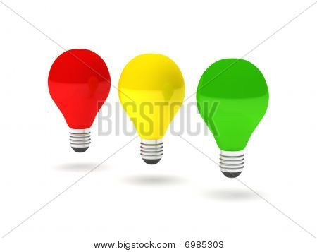 Stoplight Bulbs