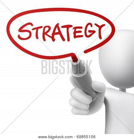 Strategy Written By A Man