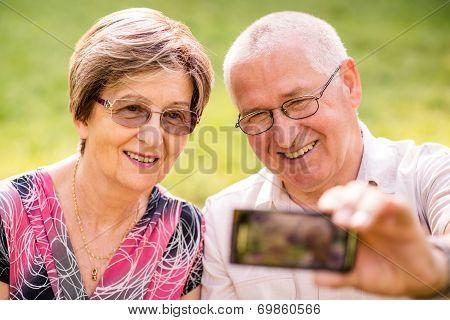 Capturing moments - senior couple