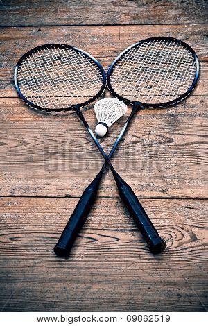 Vintage Badminton Racquet