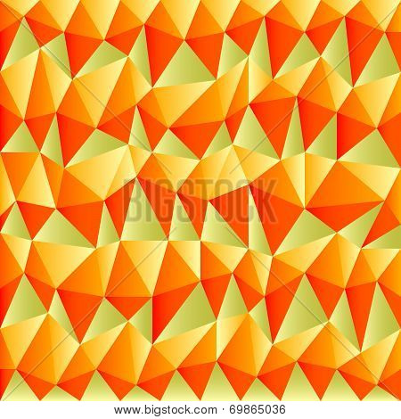 Triangular Autumn Background