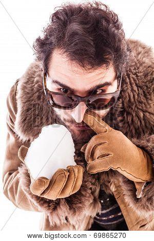 Snorting A Snowball