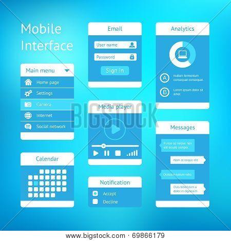 vector interface template design