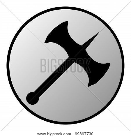 Battle Axe Button