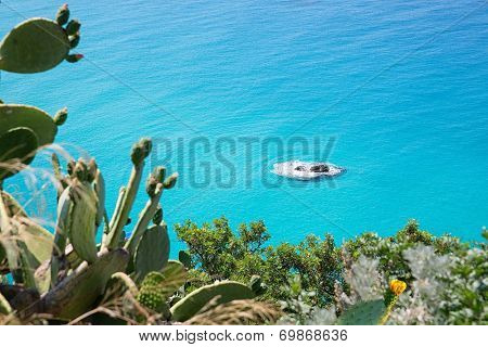 Coast near the town of Tropea region Calabria - Italy