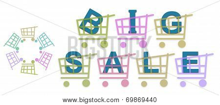 Big Sale Shopping Baskets