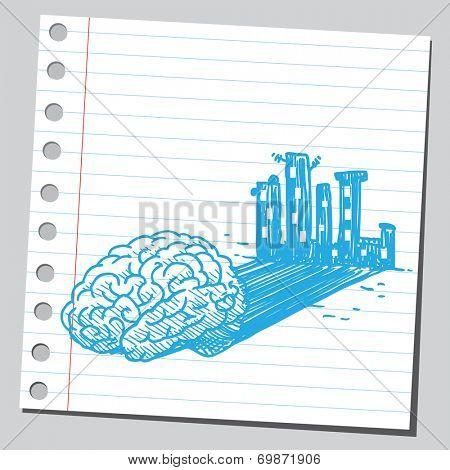 Brain shadow (city)
