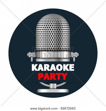 Karaoke Party Banner