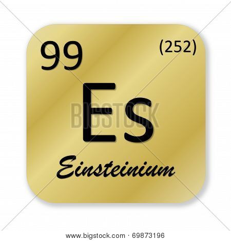Einsteinium element