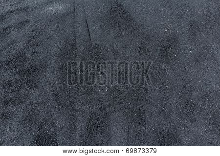 Freshly Placed Hot Asphalt Background