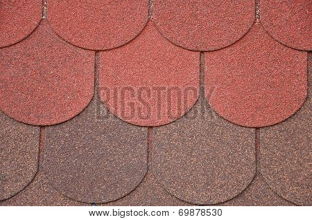 Soft Roof, Roof Tiles. Background