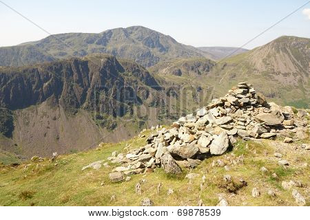 Summit Cairn and Haystacks