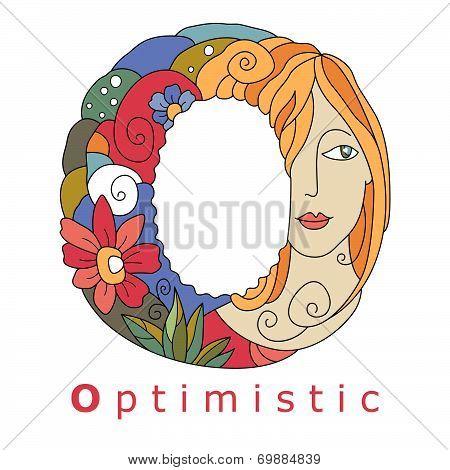 Letter O - Optimistic
