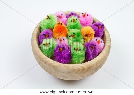 Easter Chicks In A Nest