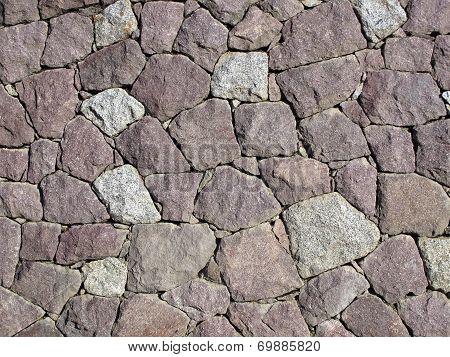 Stone Wall - Dry Set Masonry