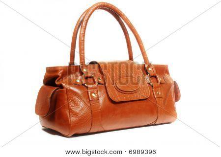 leathe handbag