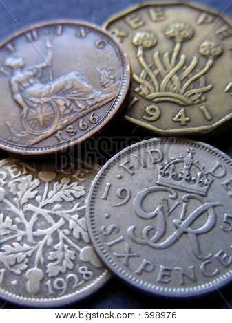 Old British Coins
