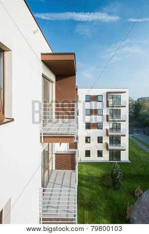 Balconies In Block