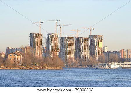 View Of Neva River, St.petersburg