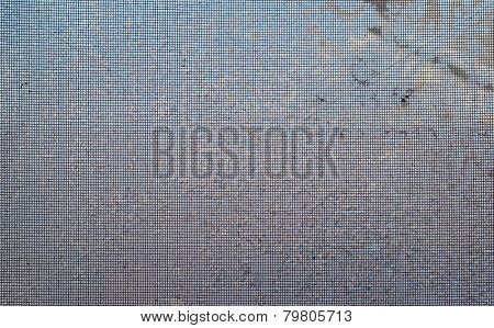 Frosted Window Screen Background, unfocused