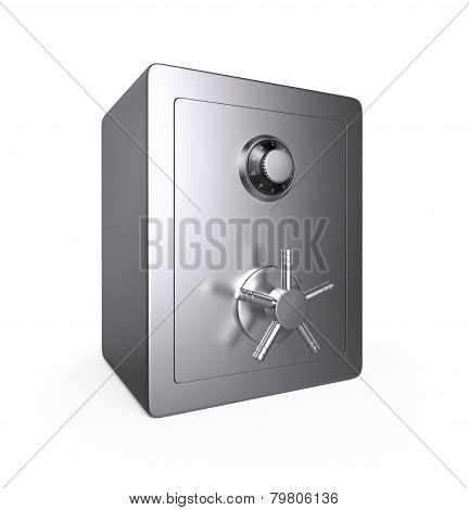 Closed Steel Safe