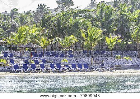 Beach Coastal Scene