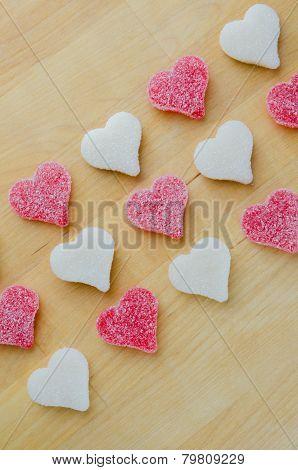 Narrow Heart Diagonal