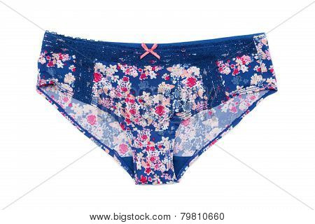 Panties In Floral Pattern