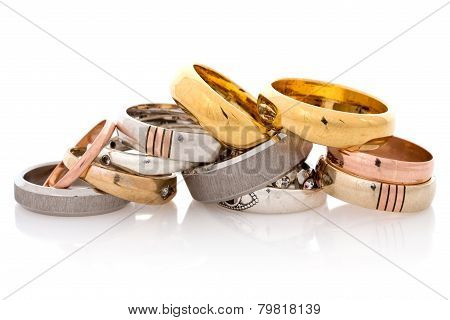 Golden And Silver  Jewelry