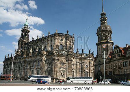 Dresdner town cente