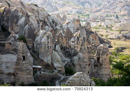 Goreme National Park in Cappadocia in Turkey