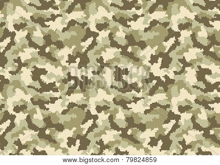 Camouflage Stained Glass Pattern