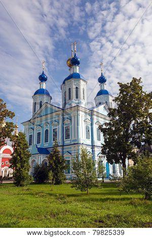 Russia. Tambov City. Cathedral Of Kazan Monastery