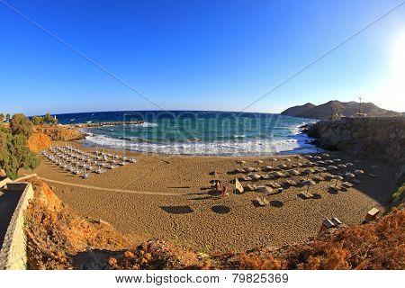 Beach at Crete