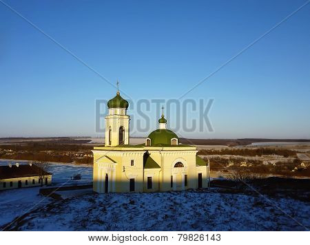 Alexander Nevsky church at Khotyn Fortress