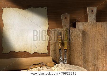 Rustic Cuisine Background