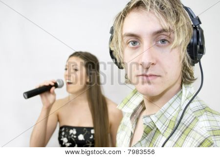 Listening To Singer