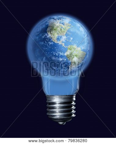 Earth-bulb