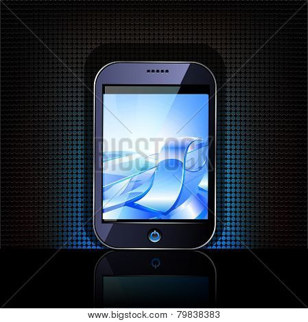 Smartphone editable vector file.