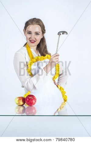 Homemaker With Ladle