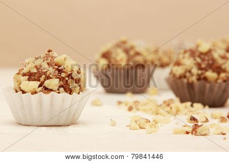 Walnuts candies