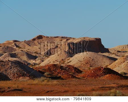 Opal mines in Coober Pedy