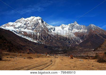 Mount Manaslu, Nepal