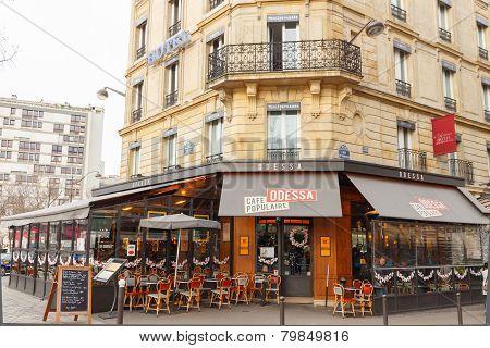 Paris. Cafe Odessa.
